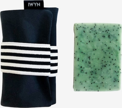 I Want You Naked Set 'Jack & Soap For Heroes' in grün / schwarz / weiß, Produktansicht