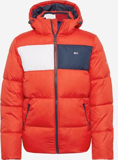 Žieminė striukė iš Tommy Jeans , spalva - raudona, Prekių apžvalga