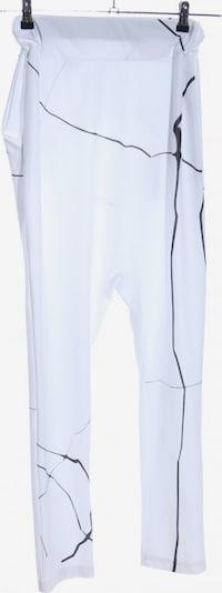 UNBEKANNT Haremshose in S in schwarz / weiß, Produktansicht