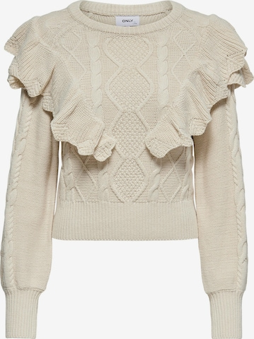 ONLY Sweater 'Lisani' in Beige