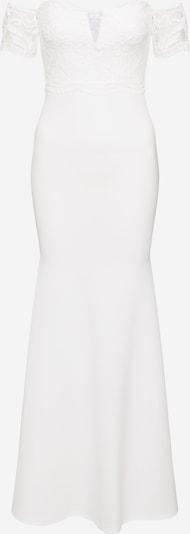 Missguided Suknia wieczorowa w kolorze piaskowy / białym, Podgląd produktu