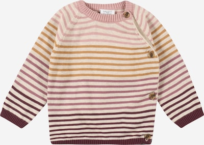 Hust & Claire Džemperis 'Cane', krāsa - bēšs / konjaka toņa / ogu / rožkrāsas, Preces skats