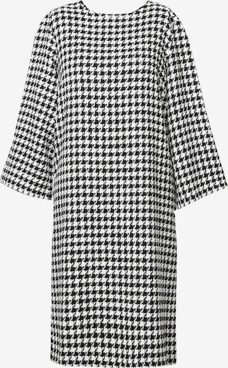 Madam-T Kleid 'Melanica' in schwarz / weiß, Produktansicht
