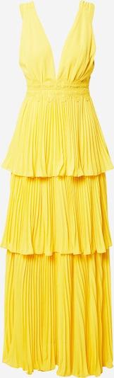 True Decadence Robe en jaune, Vue avec produit