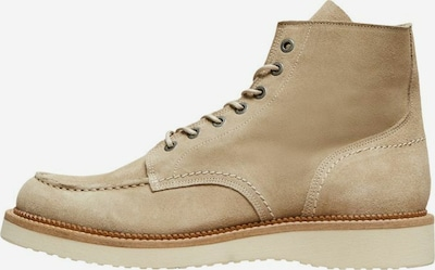 SELECTED HOMME Stiefel in beige, Produktansicht
