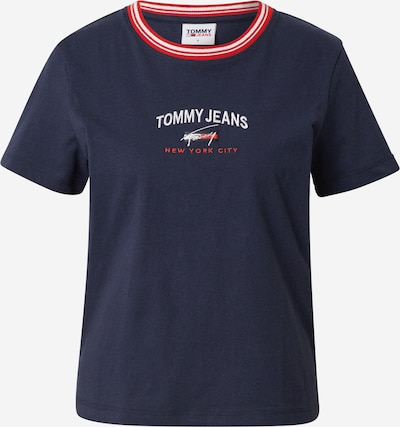 Tommy Jeans Paita värissä laivastonsininen / punainen / valkoinen, Tuotenäkymä