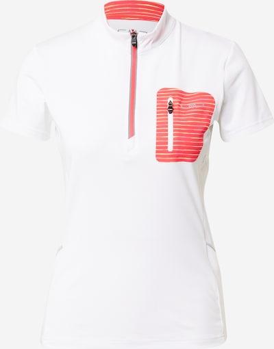 CMP T-shirt fonctionnel en gris / grenadine / blanc, Vue avec produit