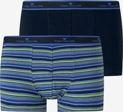 TOM TAILOR Boxershorts in de kleur Blauw / Lichtblauw / Donkerblauw / Lichtgroen, Productweergave