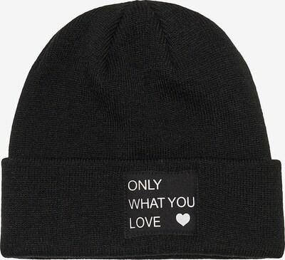 KIDS ONLY Cepure, krāsa - melns / balts, Preces skats
