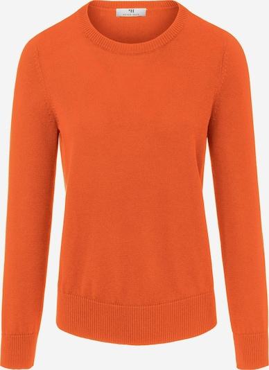 Peter Hahn Rundhals Pullover aus SUPIMA®- Baumwolle in orange, Produktansicht