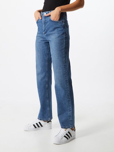 NU-IN Jeans in blue denim, Modelansicht