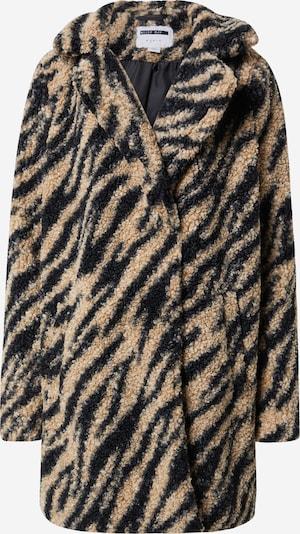 Žieminis paltas 'Gabi' iš Noisy may , spalva - smėlio / juoda, Prekių apžvalga
