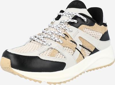 WODEN Sneakers low in beige / cream / black, Item view