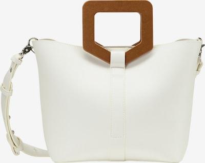 usha WHITE LABEL Sacs à main en marron / blanc naturel, Vue avec produit