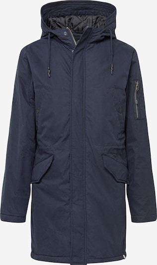 SHINE ORIGINAL Winterparka in de kleur Navy: Vooraanzicht