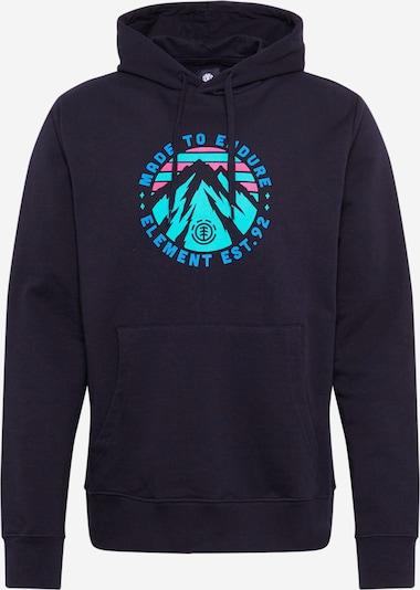 ELEMENT Camiseta deportiva en azul / turquesa / rosa / negro, Vista del producto