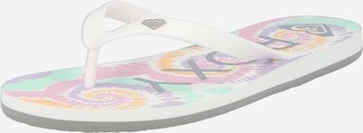 Infradito 'TAHITI' ROXY di colore bianco, Visualizzazione prodotti