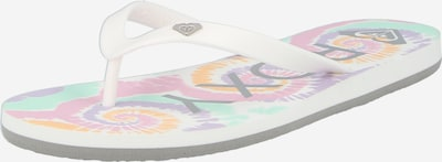 ROXY Sandalias de dedo 'TAHITI' en blanco, Vista del producto