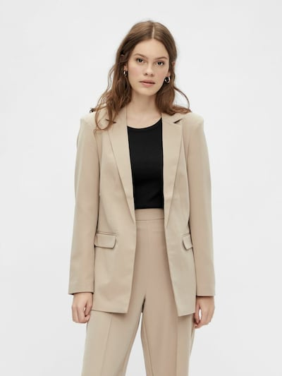 PIECES Blazer 'BOSSY' in Cappuccino, View model