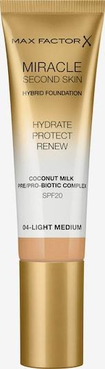 MAX FACTOR Foundation 'Miracle Second Skin' in hellbeige, Produktansicht