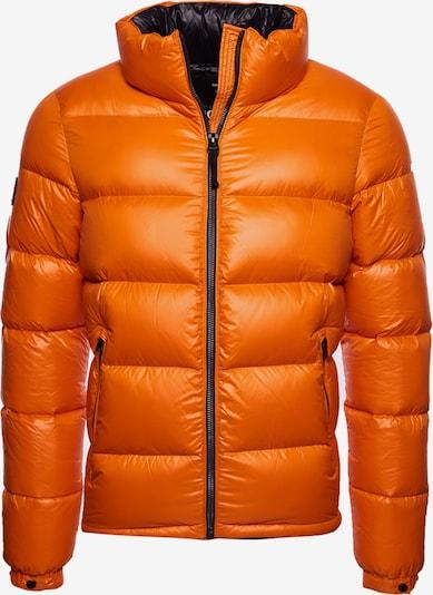 Superdry Winterjas in de kleur Sinaasappel, Productweergave