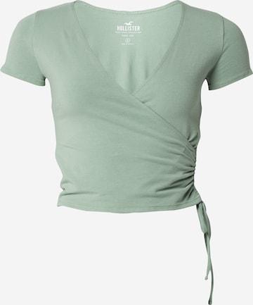 HOLLISTER Shirt in Green