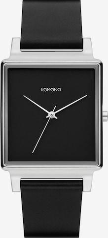 Komono Analog Watch ' ' in Black