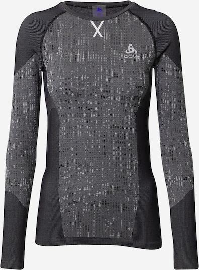 ODLO T-shirt fonctionnel 'Blackcomb' en gris foncé / noir, Vue avec produit
