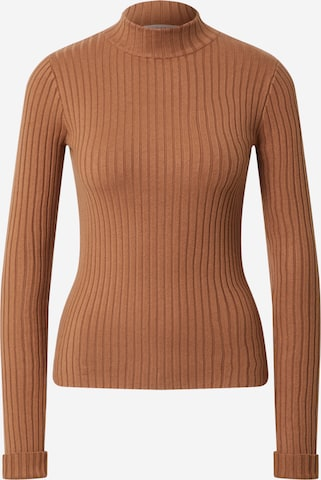 EDITED Sweater 'Jannice' in Brown