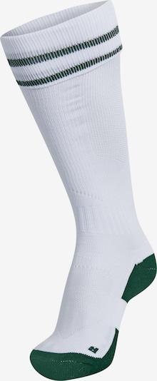 Hummel Sportsocken in dunkelgrün / weiß, Produktansicht
