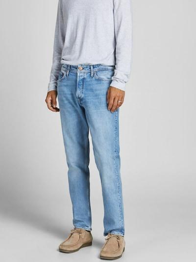 JACK & JONES Jeans 'Chris' in de kleur Lichtblauw, Modelweergave