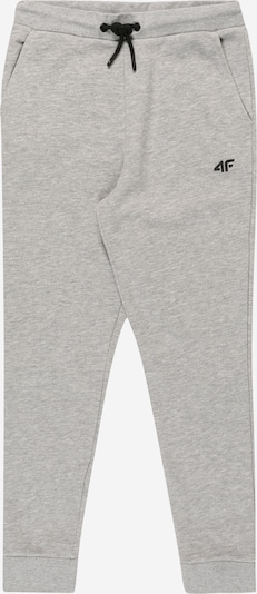 4F Sporthose in hellgrau / schwarz, Produktansicht