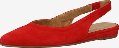 TAMARIS Ballerines à lanières en rouge clair, Vue avec produit