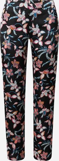 ETAM Pantalon de pyjama 'BADIA' en mélange de couleurs / noir, Vue avec produit