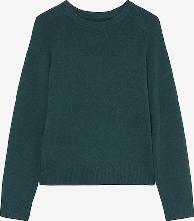Marc O'Polo DENIM Pullover in dunkelgrün, Produktansicht
