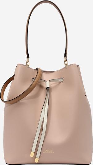 Lauren Ralph Lauren Vrećasta torba 'DEBBY' u boja pijeska / roza, Pregled proizvoda