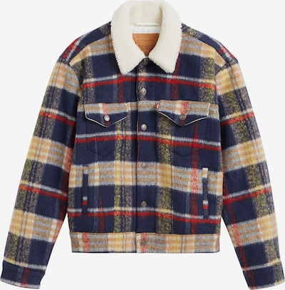 LEVI'S Between-Season Jacket in Blue / Yellow / Blood red, Item view
