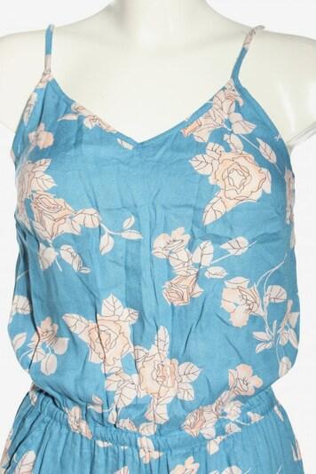 PIECES Jumpsuit in XS in creme / blau, Produktansicht