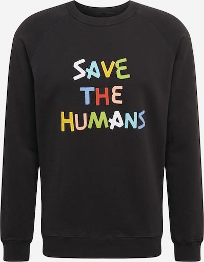 Thinking MU Collegepaita 'Save The Humans' värissä sekavärit / musta, Tuotenäkymä