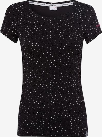 KangaROOS T-Shirt in schwarz, Produktansicht