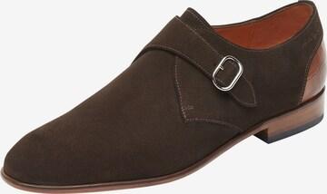 Chaussure à lacets Van Lier en marron