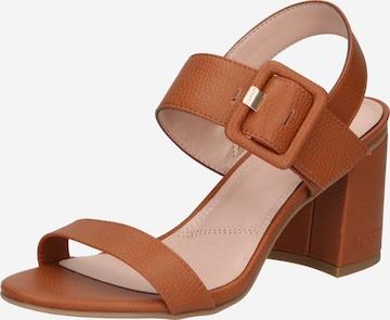 ESPRIT Sandale 'Celine' in Braun
