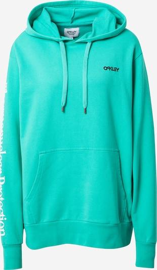 OAKLEY Sportiska tipa džemperis nefrīta / melns / balts, Preces skats