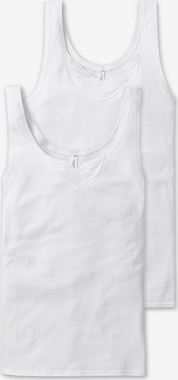 SCHIESSER Maillot de corps en blanc, Vue avec produit