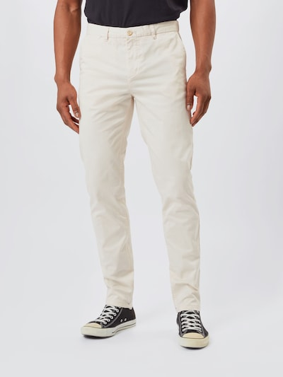 SCOTCH & SODA Chino 'STUART' in de kleur Crème: Vooraanzicht