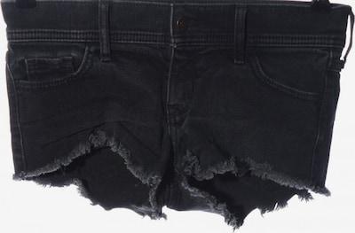 HOLLISTER Jeansshorts in XXXS-XXS in schwarz, Produktansicht