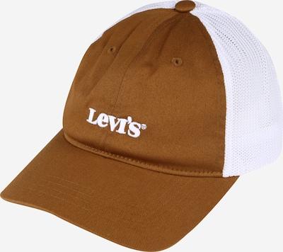 LEVI'S Gorra en caramelo / blanco, Vista del producto