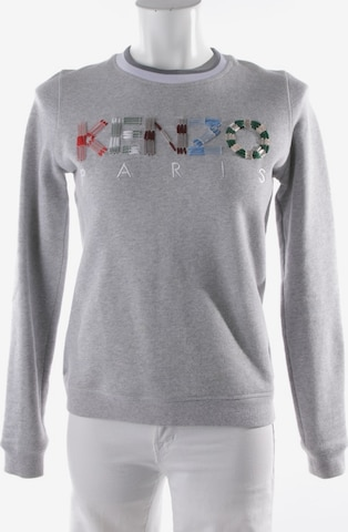 KENZO Sweatshirt / Sweatjacke in XS in Grau