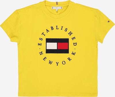 TOMMY HILFIGER Shirt 'HERITAGE' in navy / gelb / rot / weiß, Produktansicht