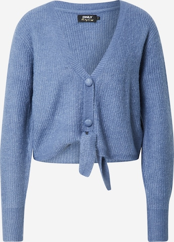 ONLY Knit Cardigan 'MONICA' in Blue